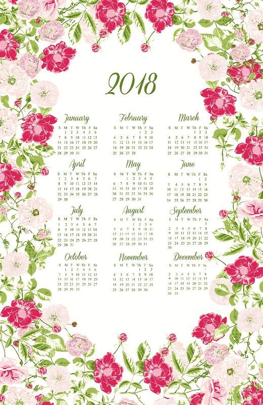 87+ Fascinating 2018 Printable Calendar Templates Printable - calendar templates