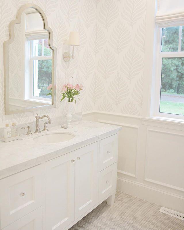 Strange Powder Bathroom Wallpaper Layla Grayce Mirror Circa Download Free Architecture Designs Ferenbritishbridgeorg