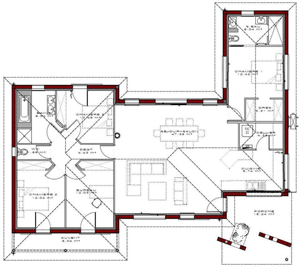 Plans de maisons | IGC Construction en 2019 | Plan maison ...
