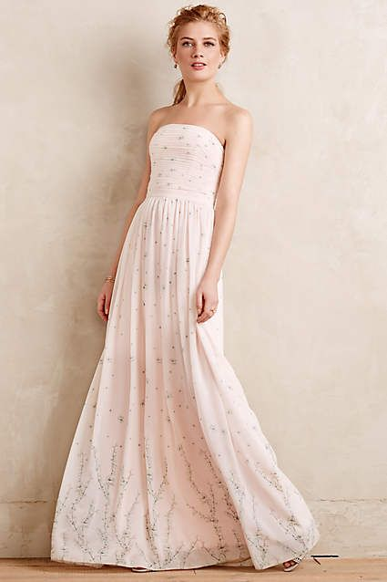 Sakura Blossoms Gown - anthropologie.com #anthroregistry #anthropologie