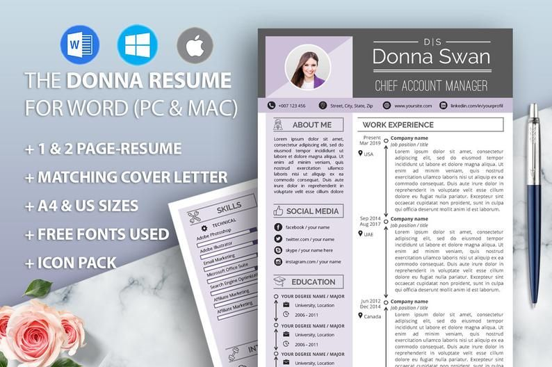Manager resume cv template for word financial clerks