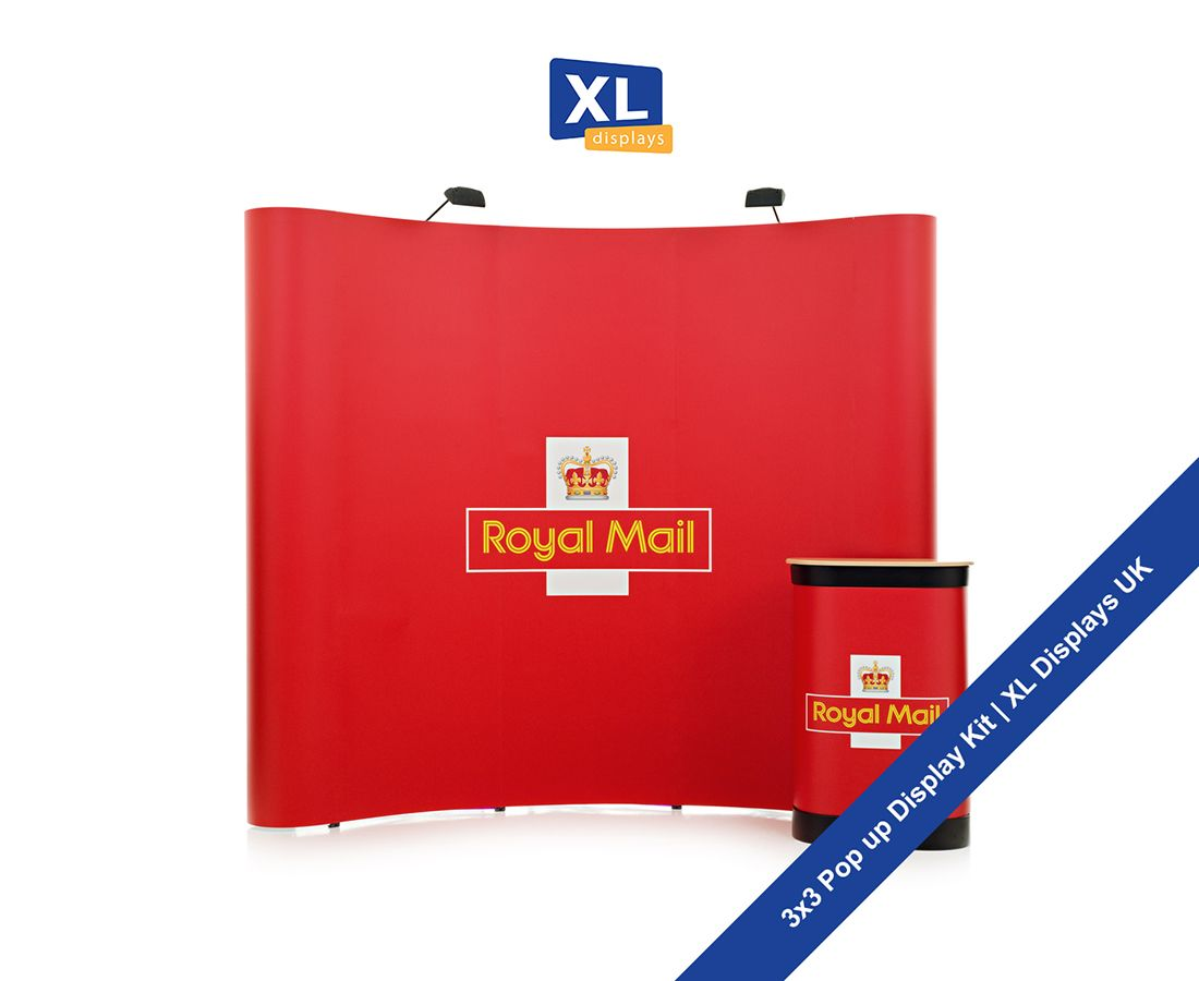 Exhibition Stand Vat : Pop up stand including frame graphics portable carry