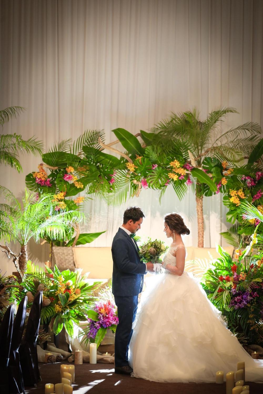 先輩花嫁 Oo Chipi Oo の挙式前リハーサルの写真まとめ ウエディングニュースブライズ 夏の結婚式の色 ウェディング ウェディングプランニング