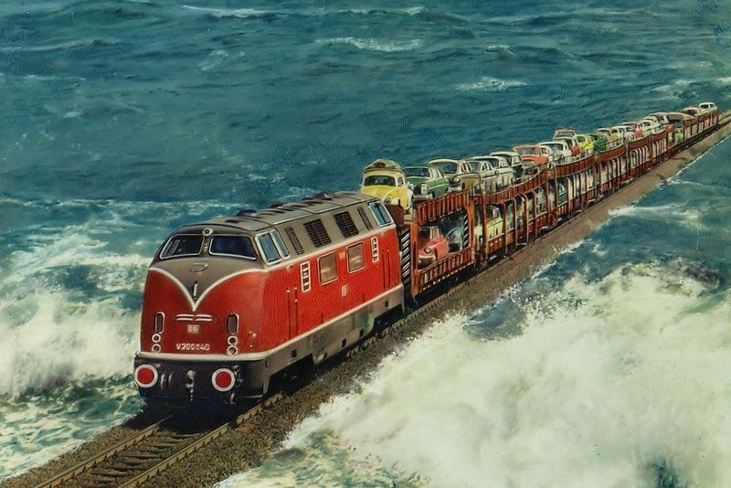 Image result for The North Frisian Island of Sylt train