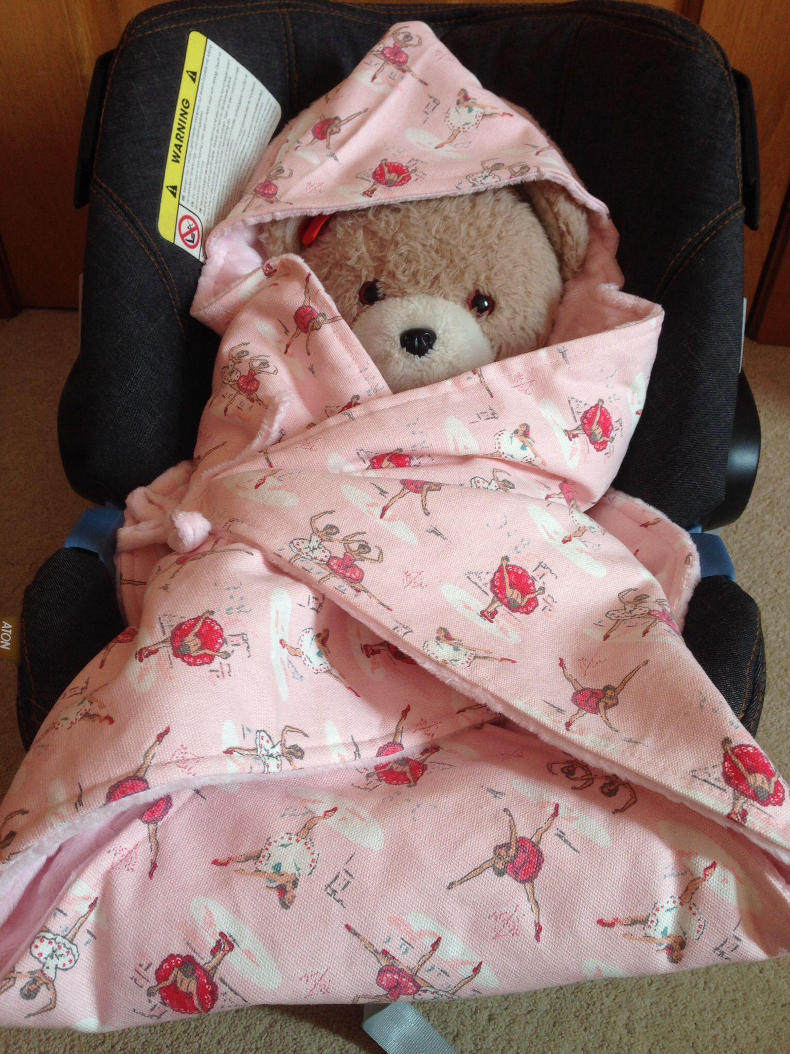 Cath Kidston Ballerina Car Seat Wrap Blanket From Sew Pretty Baby