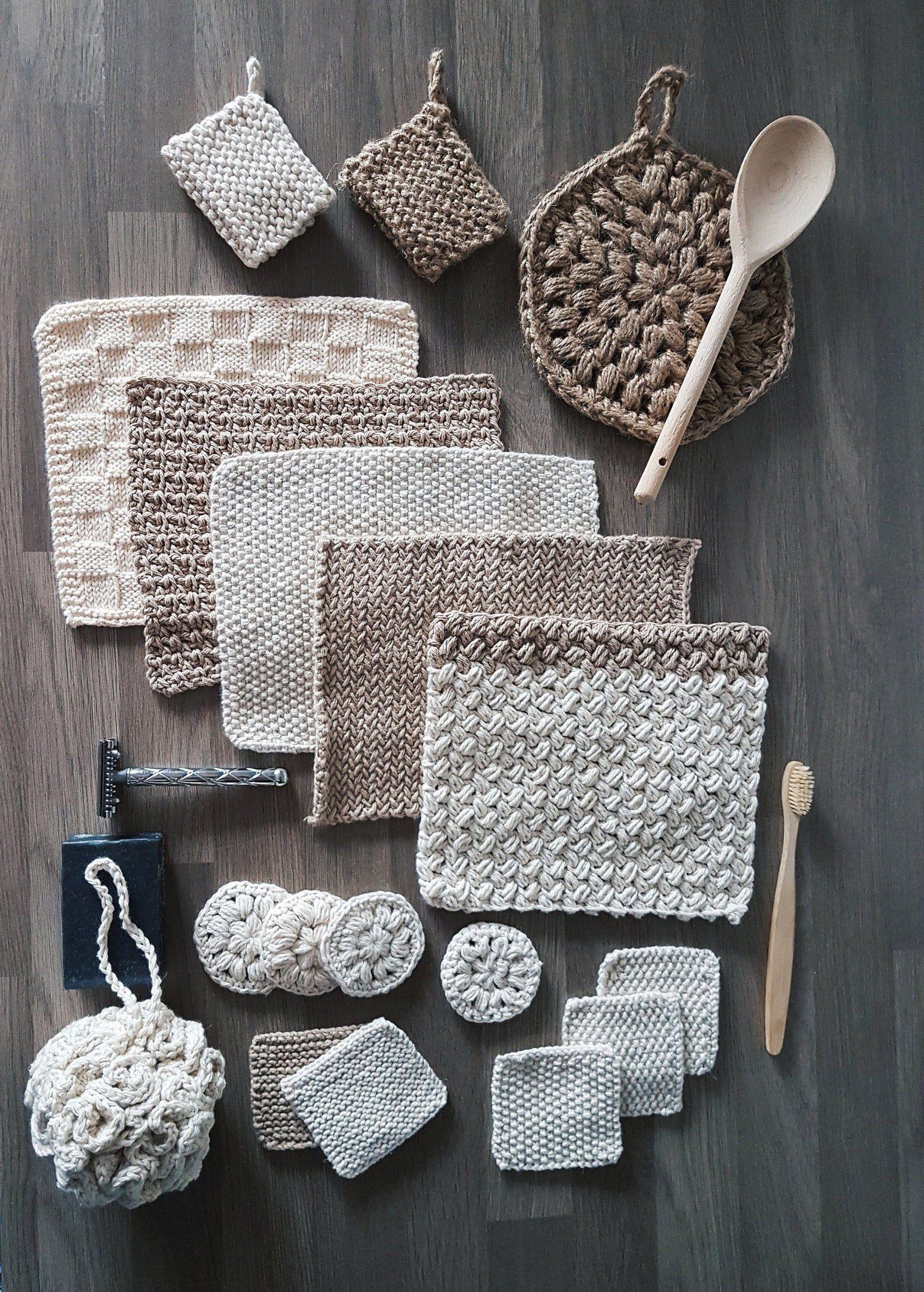 Photo of Die Zero Waste Home Collection – Häkel- und Strickmuster