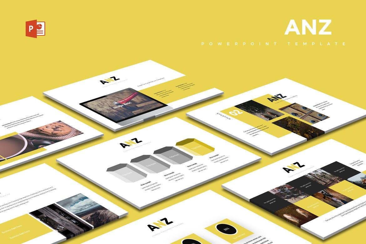 Mintaya Powerpoint Template By Aqrstudio On Envato Elements Powerpoint Powerpoint Templates Templates
