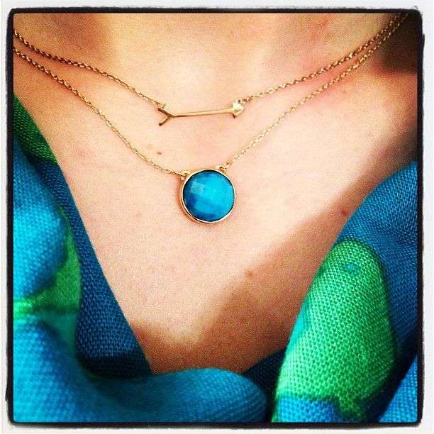 Delicate layering necklaces from Stella & Dot