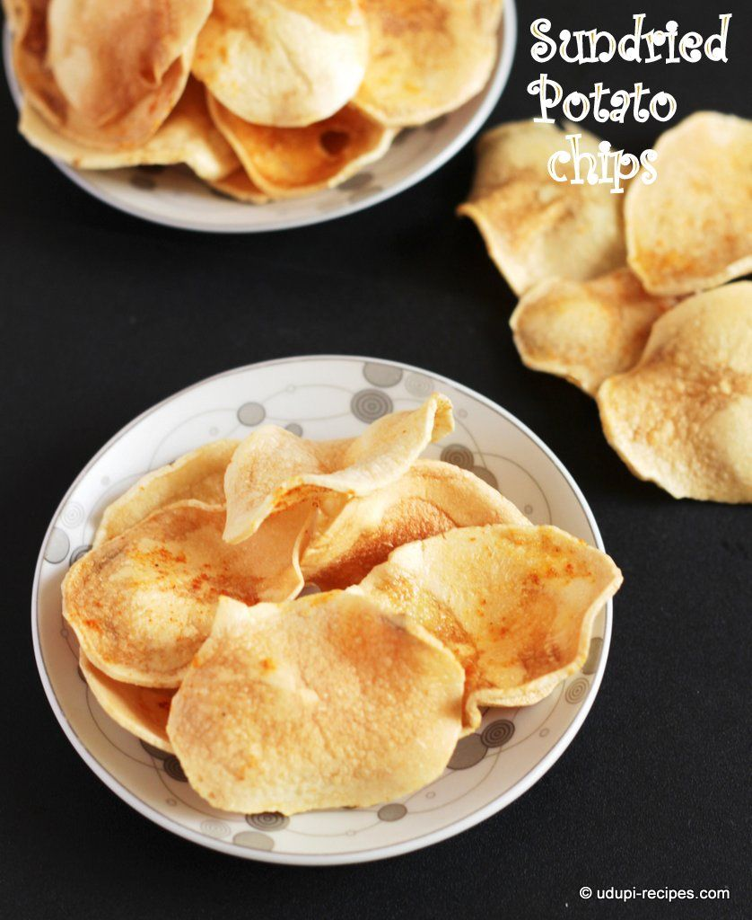 Sun dried potato chips recipe potato chips snacks and recipes sun dried potato chips recipe udupi recipes indian snacksindian food forumfinder Image collections