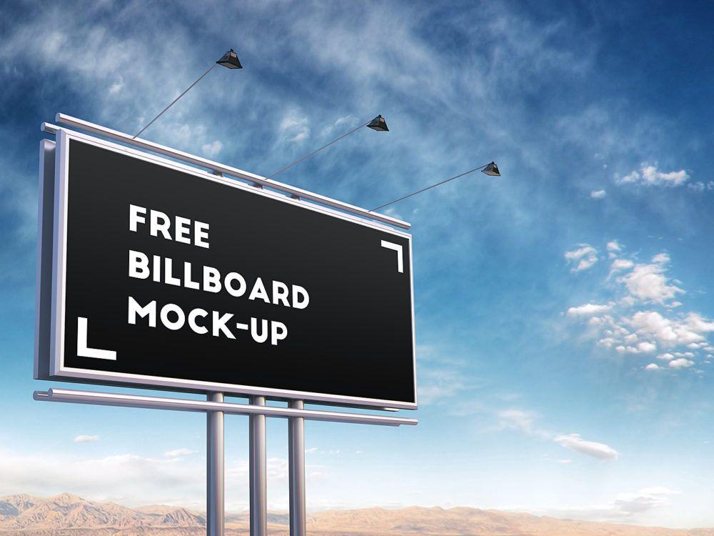 Download Billboard Mock Up Free Mockup Billboard Mockup Billboard Photoshop Mockup Free
