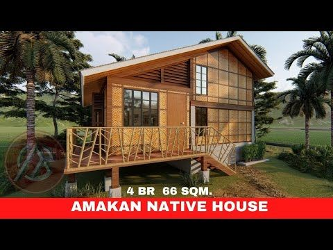 AMAKAN SPLIT LEVEL HOUSE 4 BEDROOM 6 x 7m DESIGN