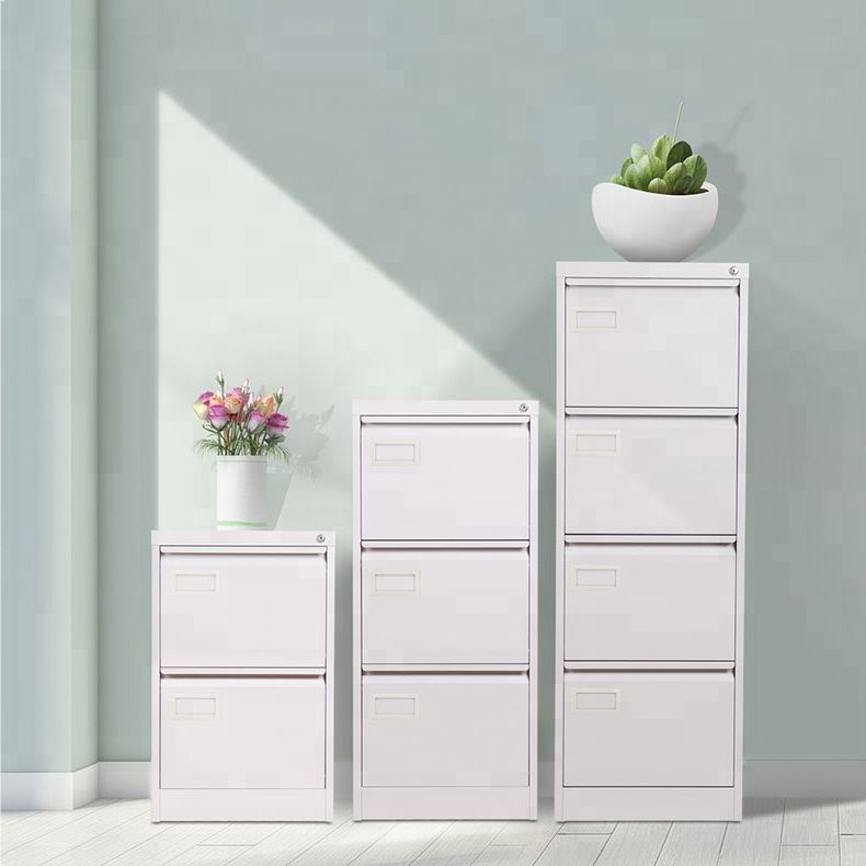 Tidyard Office Metal Vertical File Cabinet with 5 Drawers Gray