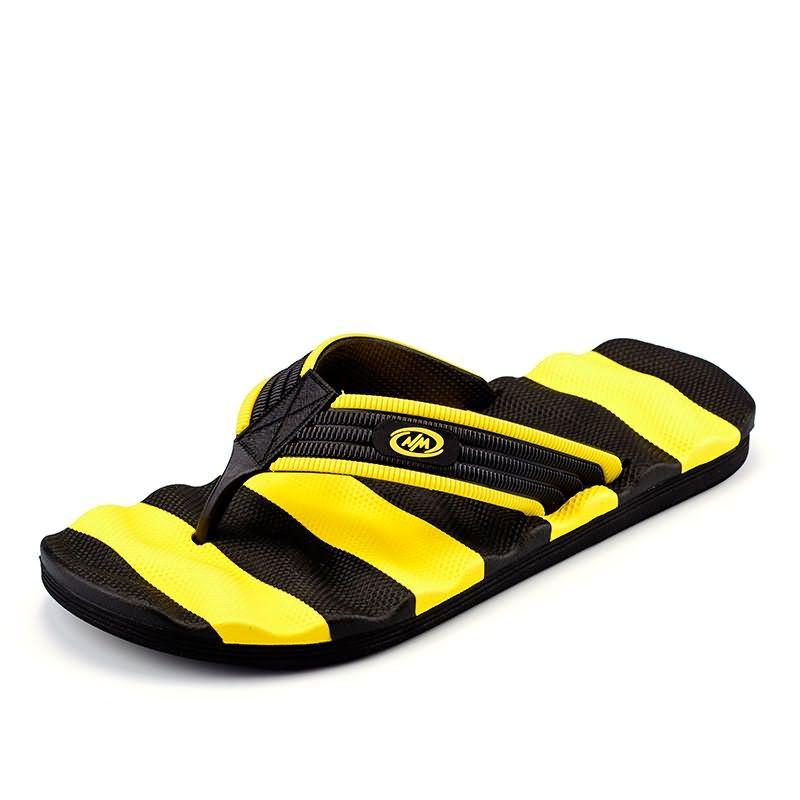 901c59d03502 Summer Men Designer Flip Flops Men s Casual Sandals Fashion Slippers  Breathable Beach Shoes Hot Sales