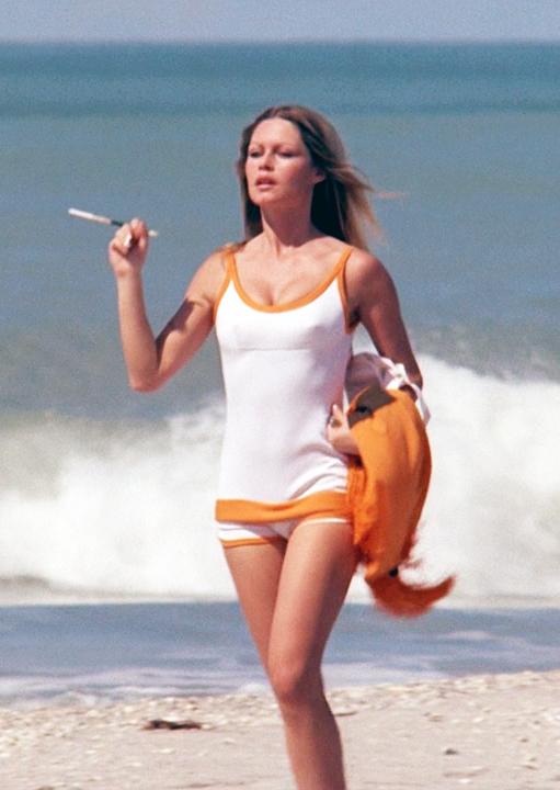 """Brigitte Bardot, """"Rum Runners"""", 1971"""