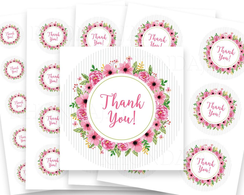 13 Thank You Stickers Ideas Thank You Stickers Stickers Printable Stickers