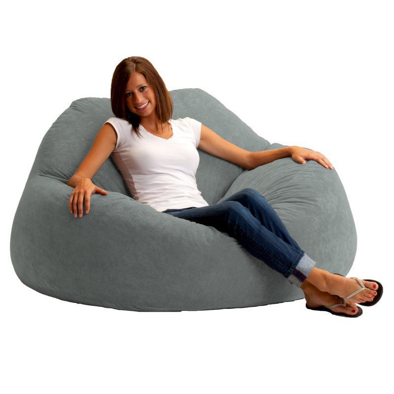 Chillum Comfort Suede Bean Bag Loveseat