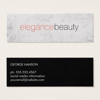 Elegant font grunge orange mini business card hair stylist shop elegant font grunge orange mini business card created by lovelybusinesscards personalize it with photos text or purchase as is reheart Image collections