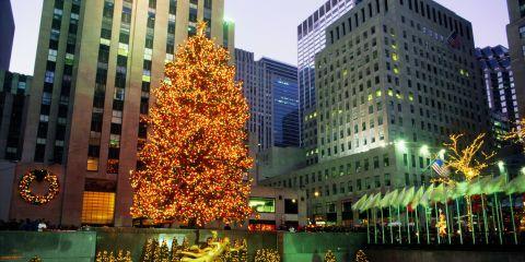 Rockefeller Center Christmas Tree History - Rockefeller Tree Through the Ages