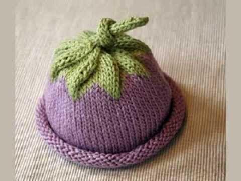 Knit Baby Hat Pattern Youtube Layette Pinterest Baby Hat