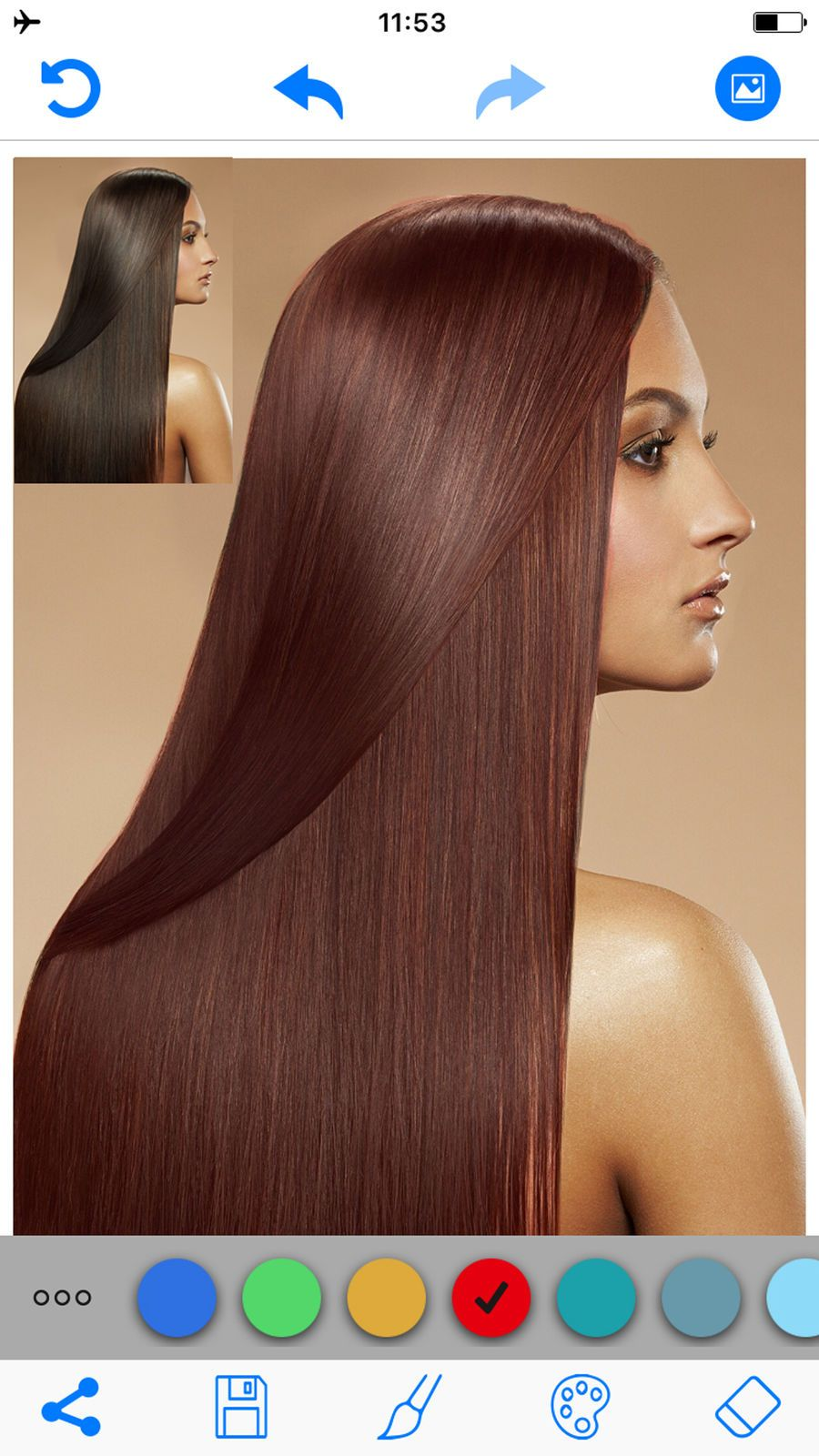 Hair Color Changer Salon Booth Reference Zhang Photo Video Hair Color Hair Color Changer Change Hair Color