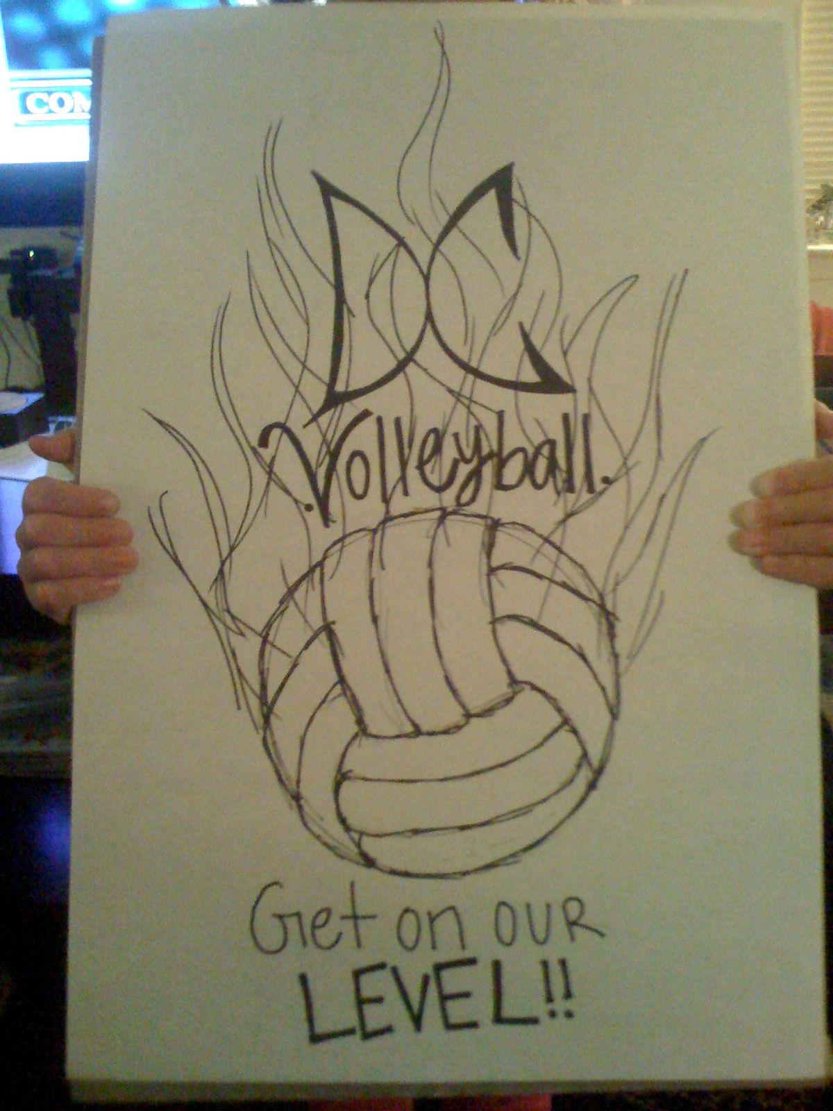 Kroo Volleyball Tshirt Design By Ashton Blake Morgan Senior Night