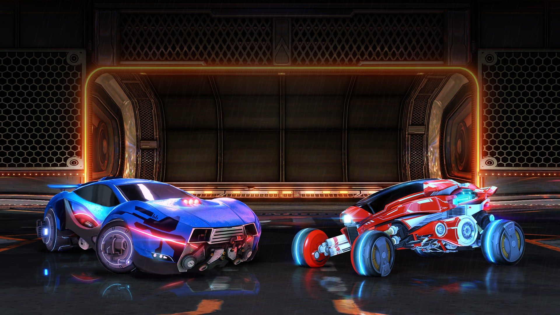 Rocket League Is Heading To Tokyo Hd backgrounds, Flying