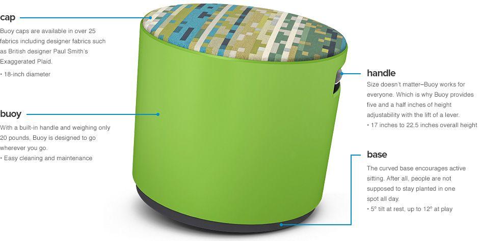 Buoy Details Fabulous Chair Options #office #design