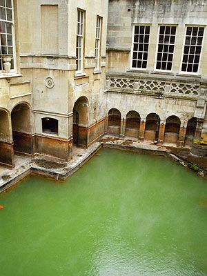 Old Roman Baths Bath Uk I Visited This Place Its Really