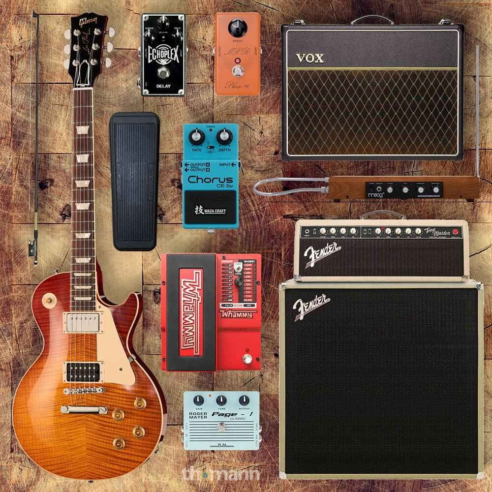 the great jimmy page 39 s rig wood and strings in 2019 guitar rig guitar pedals custom guitars. Black Bedroom Furniture Sets. Home Design Ideas