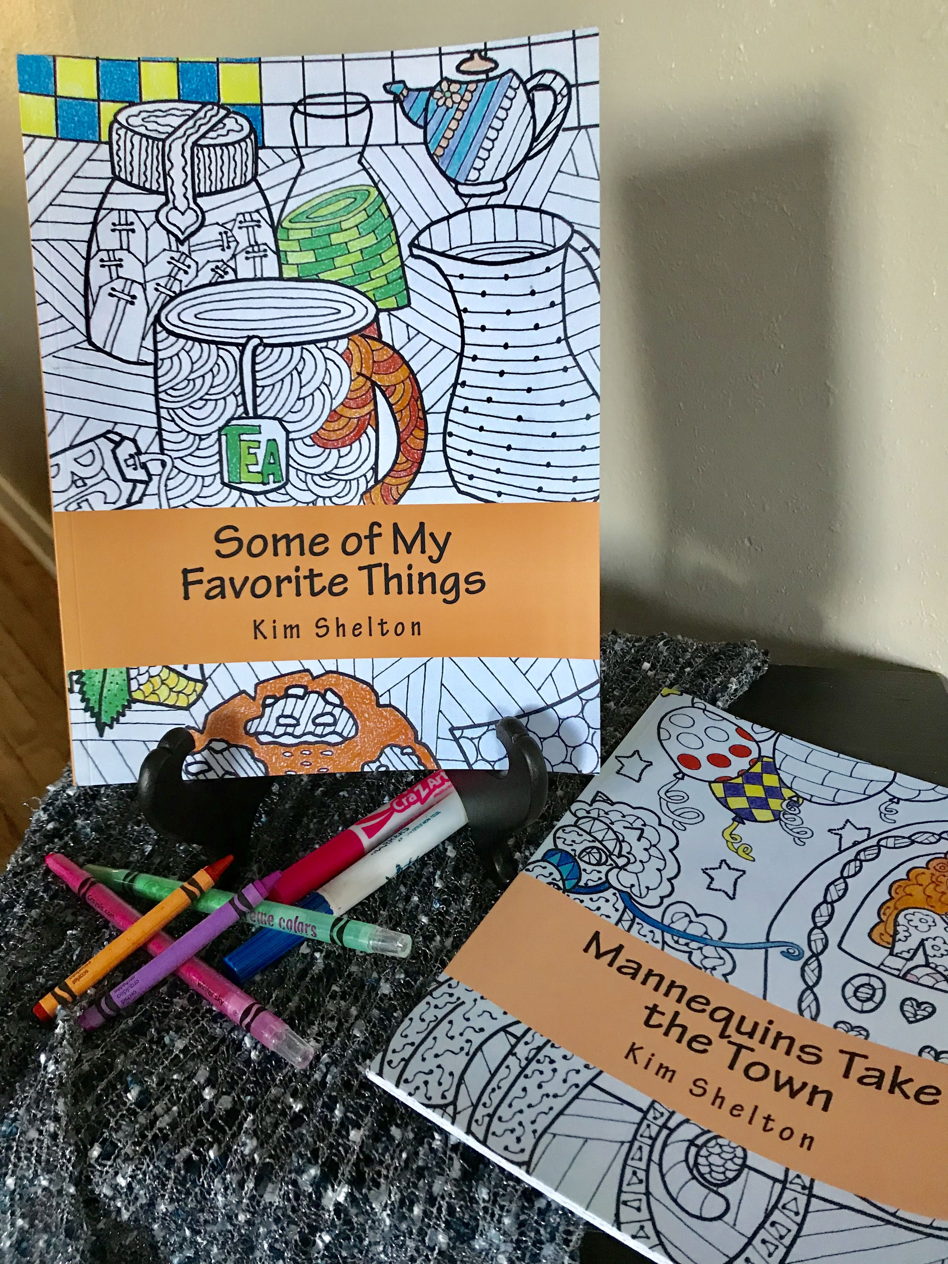 Some of My Favorite Things was my first coloring book. The whole ...