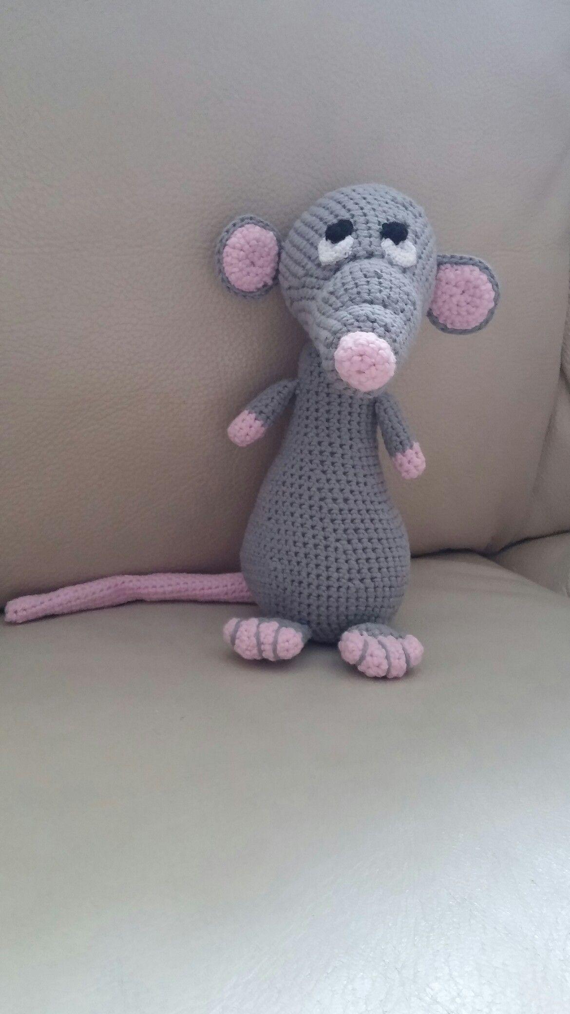 Ratje Uit Het Haakboek Van Bobbi Eden Knitted And Crocheted By