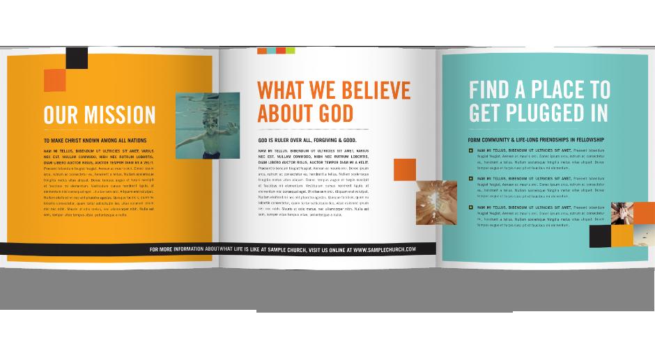 church brochure samples google search church design ideas
