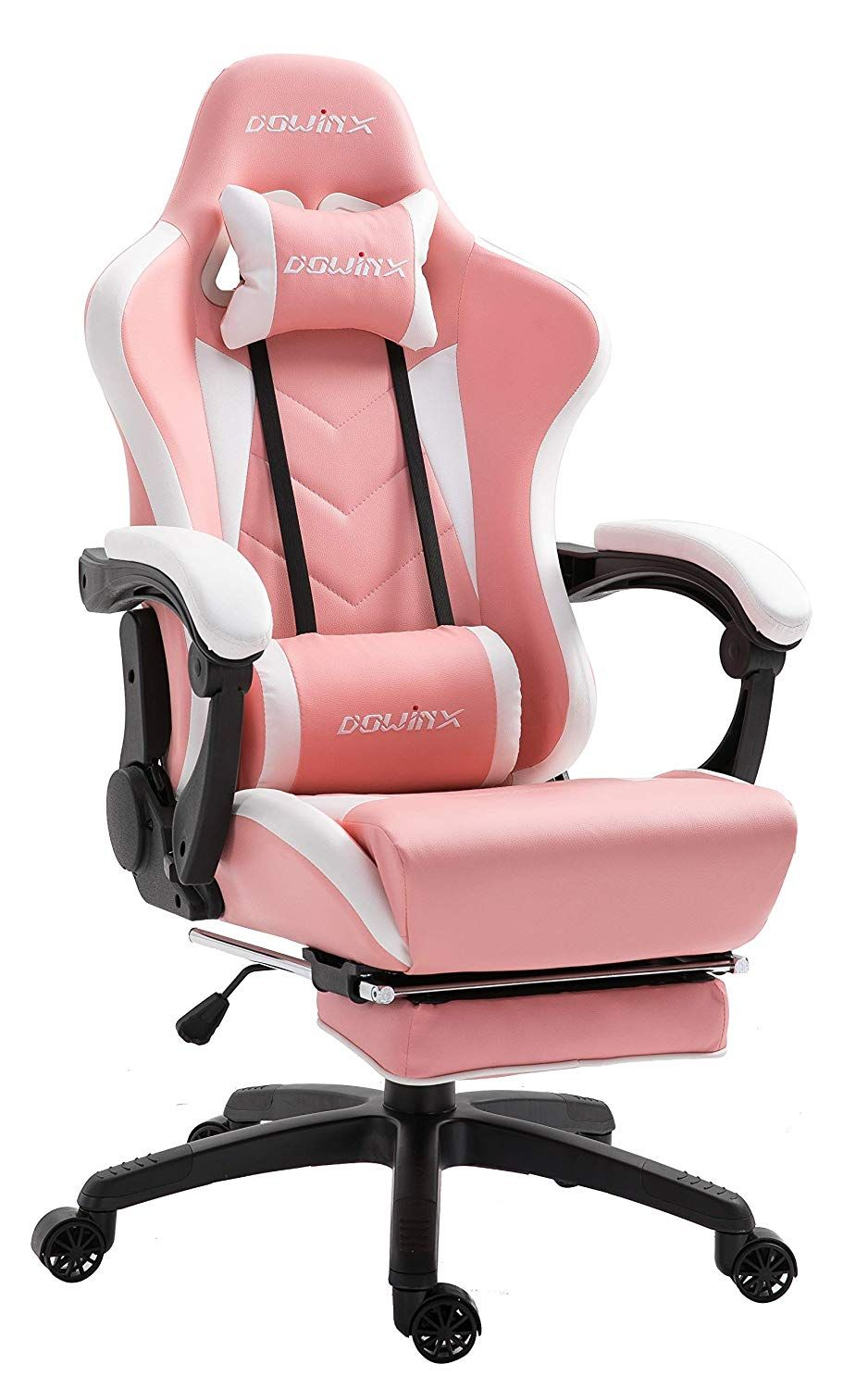 Dowinx gaming chair ergonomic racing style recliner with