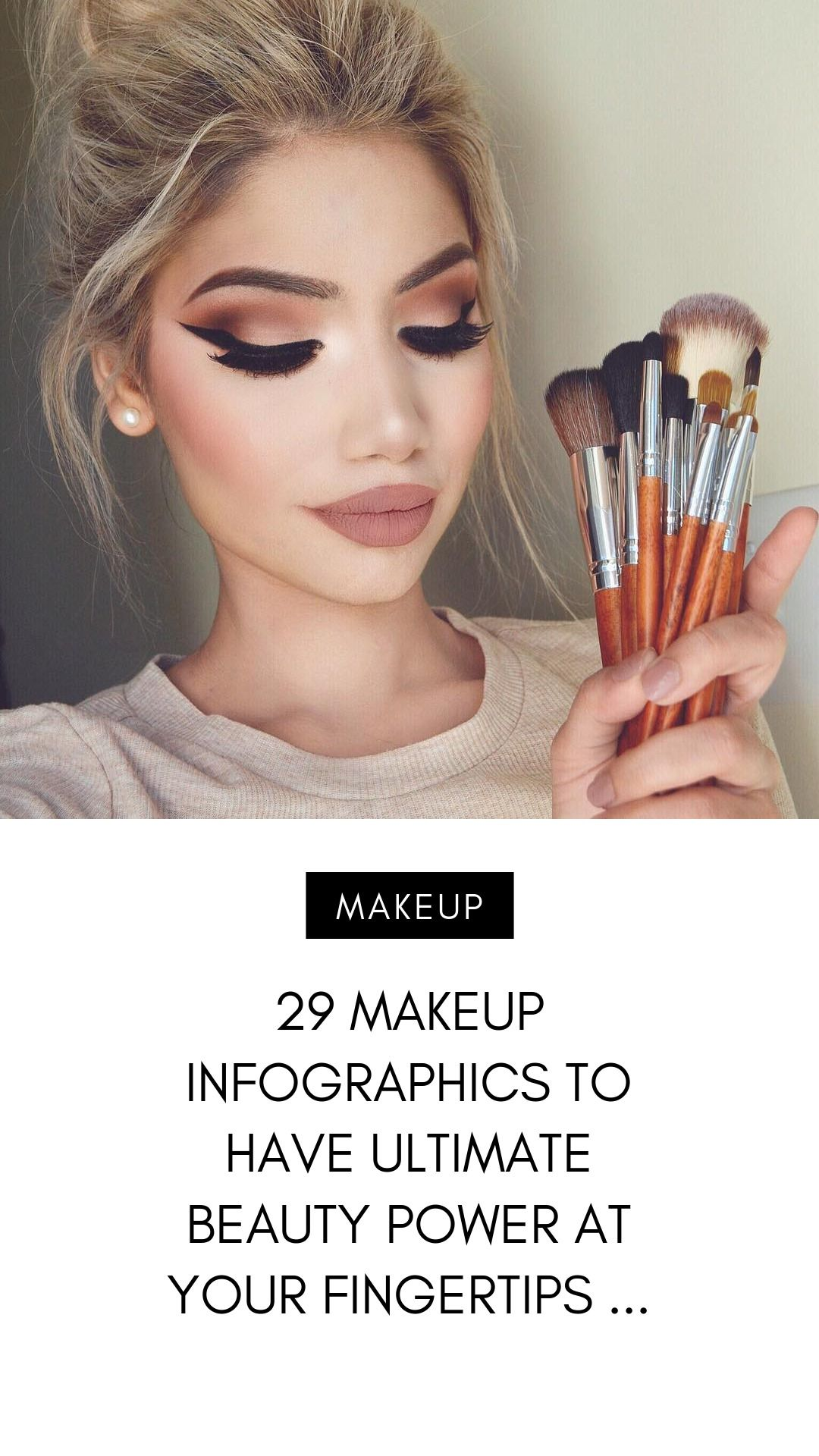 29 Makeup Infographics to Have Ultimate Beauty Power at