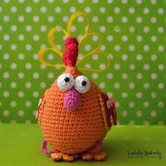 Crochet pattern - Easter hen by VendulkaM, amigurumi, crochet toy ...
