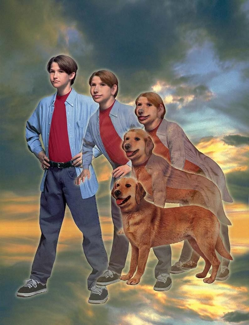 ANIMORPHS #21: THE THREAT art print, signed and nu