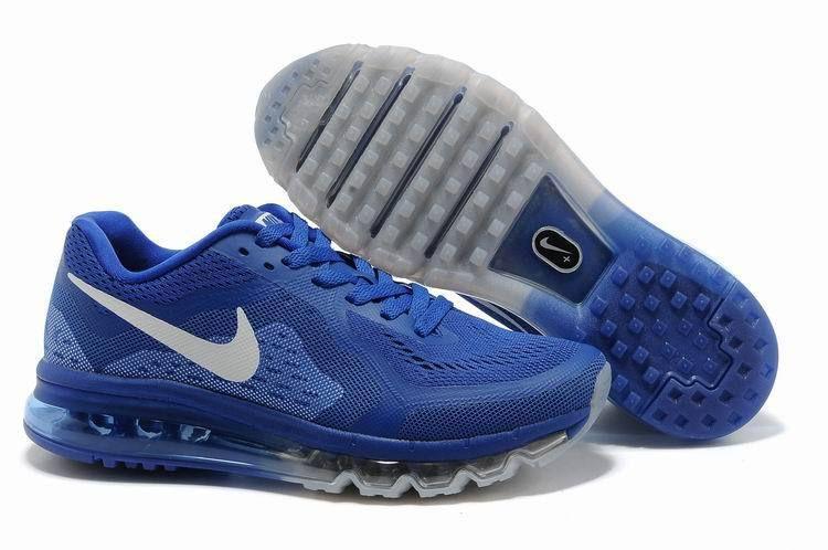 Cheap Nike Air Max 2014 Royal Blue Black Men's Running Shoes #blue #shoes