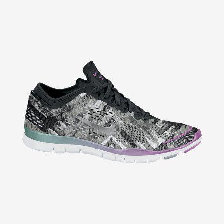 a7a841b25c53 Nike Free 5.0 TR Fit 4 Print Women s Training Shoe