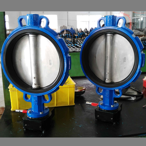 Concentric Wafer Type Butterfly Valve A536 65 Body 12 Inch 150lb Butterfly Valve Valve Body