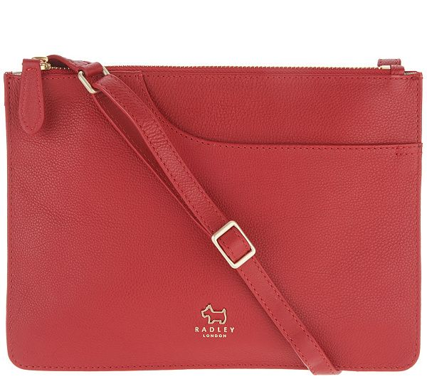 RADLEY London Pocket Leather Medium Crossbody Handbag - Page 1 — QVC.com 6b8695ca039d9