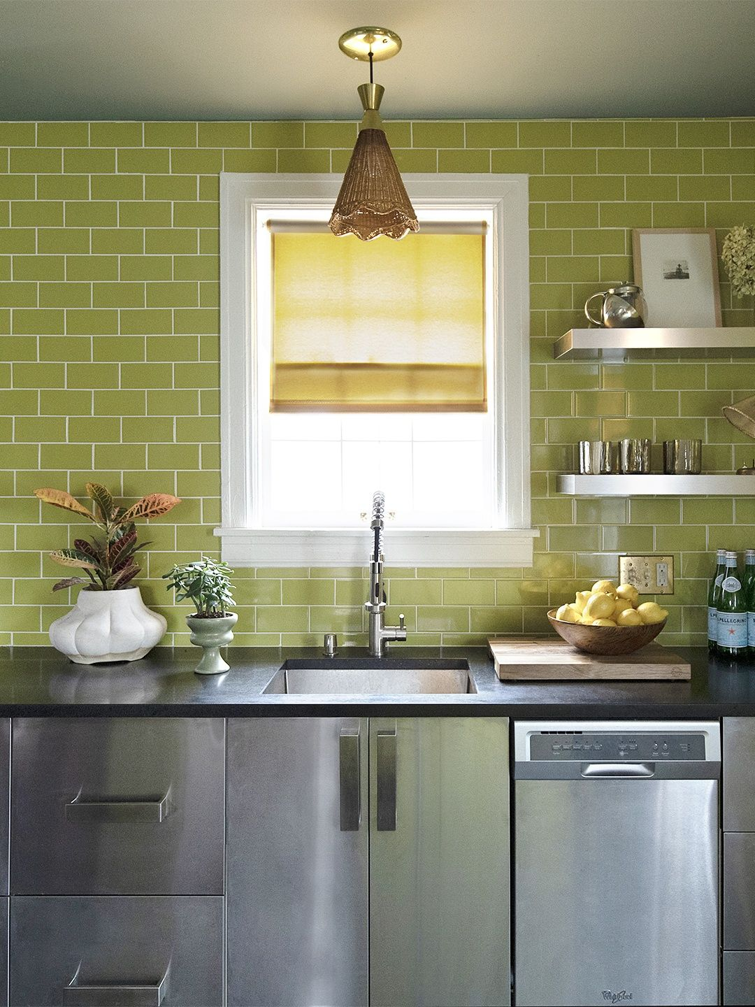 6 Metal Kitchen Cabinets That Prove Industrial Is More Versatile Than You Think In 2020 Metal Kitchen Cabinets Metal Kitchen Kitchen Cabinets