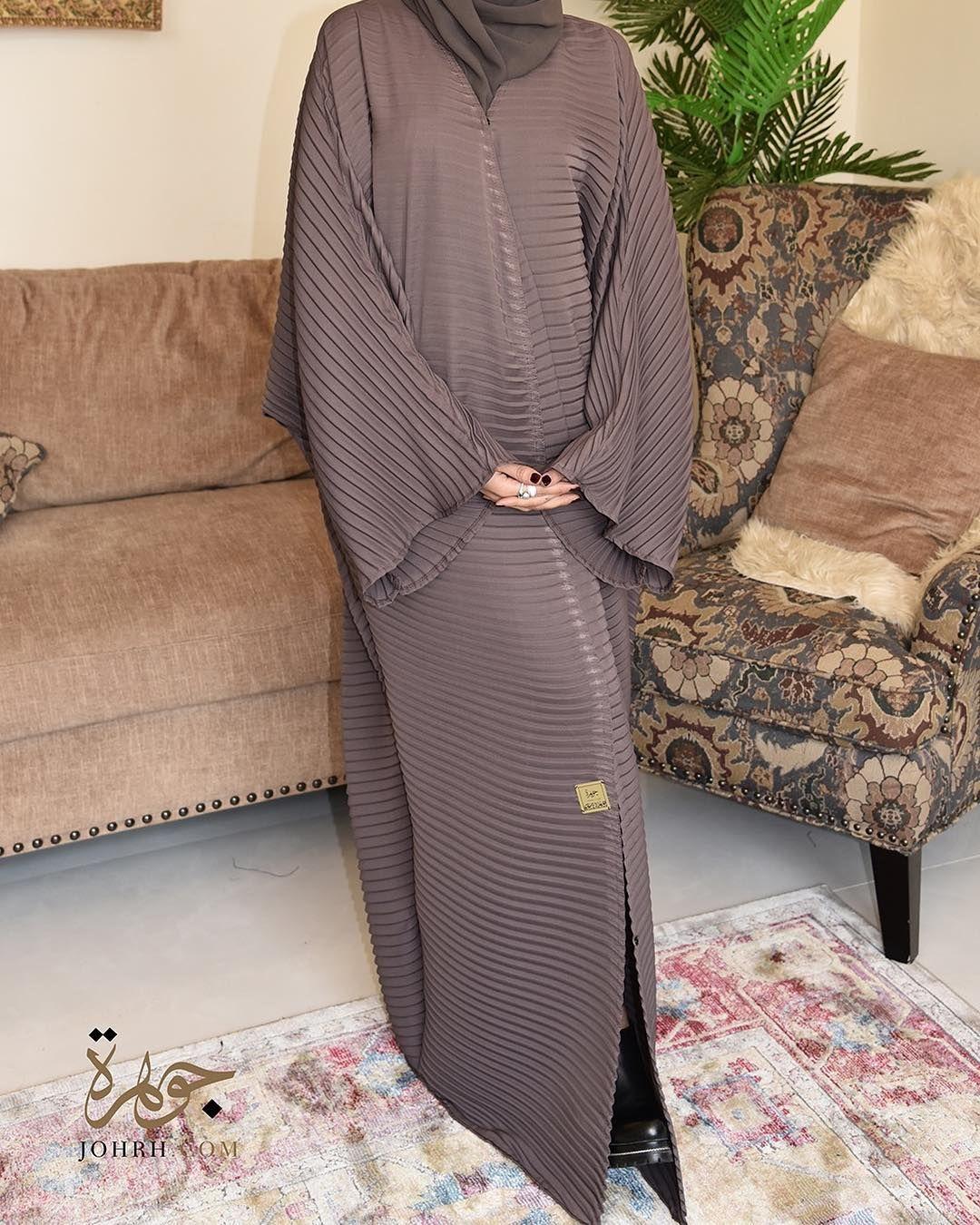 تألقي مع هذه العباية الفريدة من نوعها والتي تمتاز بقصة البليسيه الكلاسيكية بلون موف رائع والتي فصلت بأسلوب مبتكر لتواكبي بها آخر Sweater Dress Fashion Dresses
