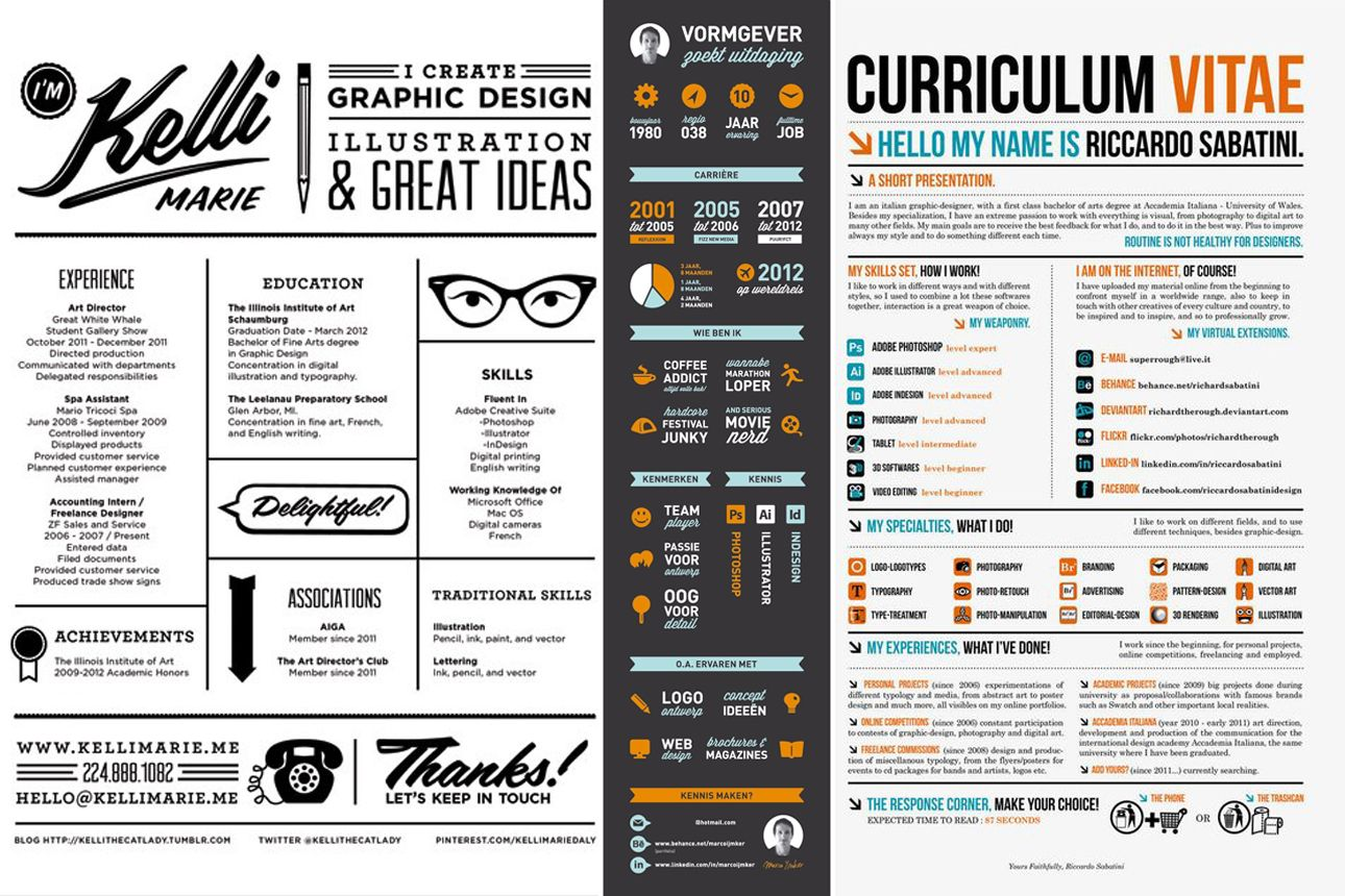 Het beste curriculum vitae maak je zo! | handig | Pinterest