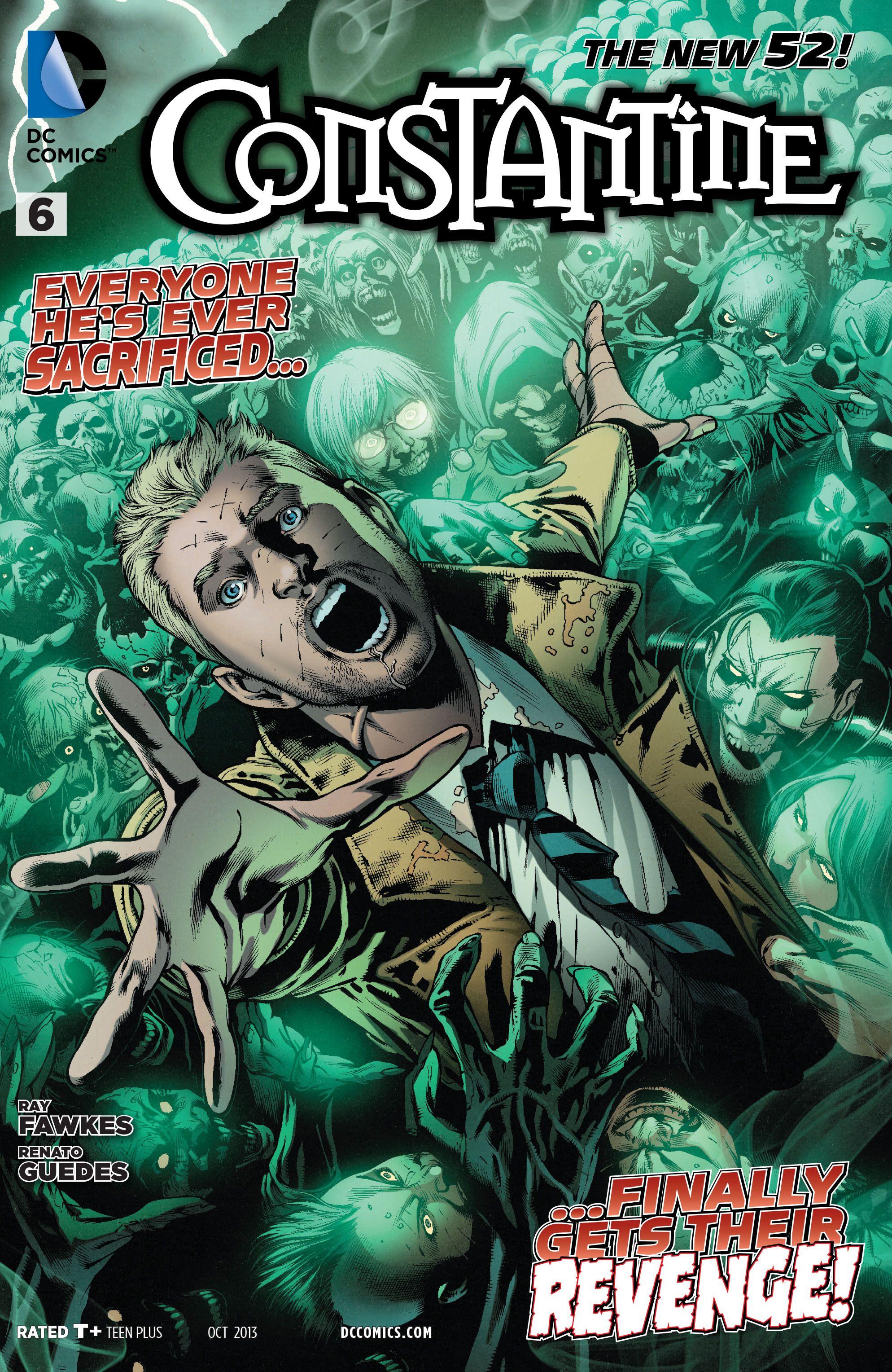 Constantine 6 Review Comics Constantine Hellblazer Comic Book Artwork