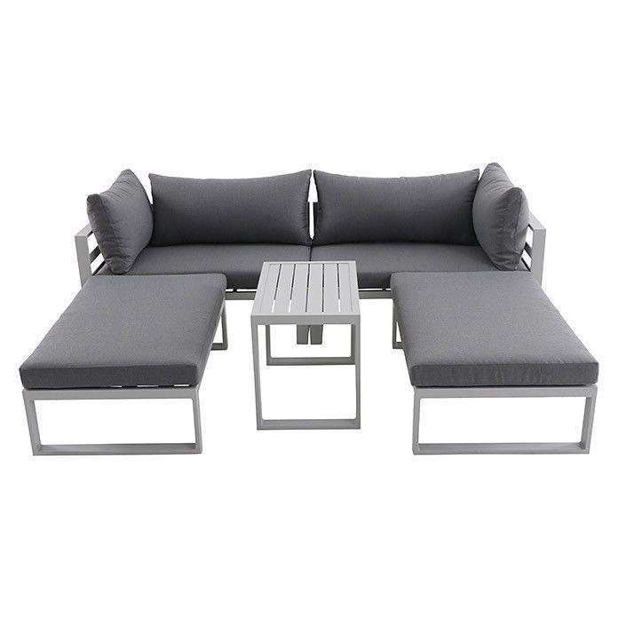 Details zu Loungeset Loungemöbel Set Sitzgruppe Gartenmöbel ...