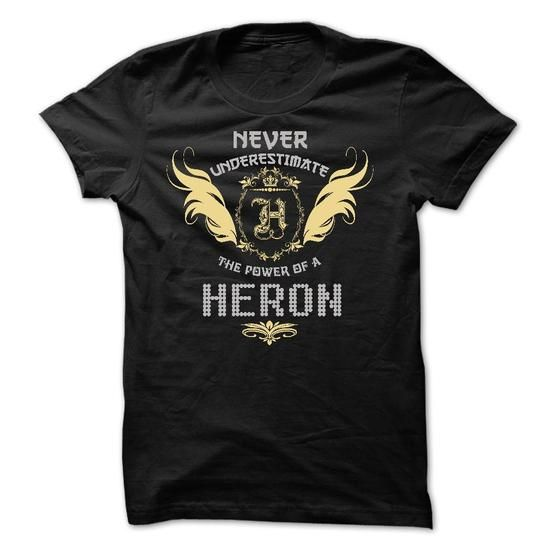 HERON Tee - #gift #unique gift. WANT THIS => https://www.sunfrog.com/Funny/HERON-Tee.html?68278