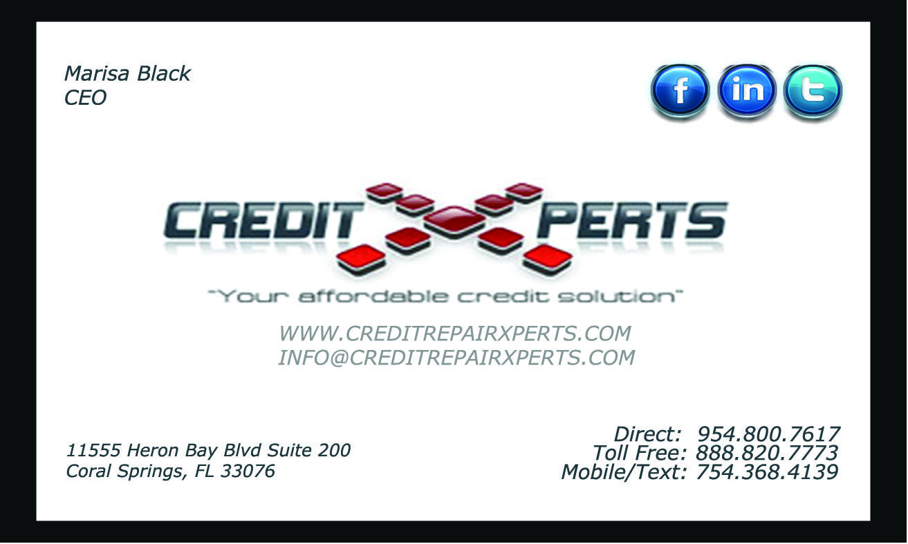 Contact us for all your credit consulting needs. Business