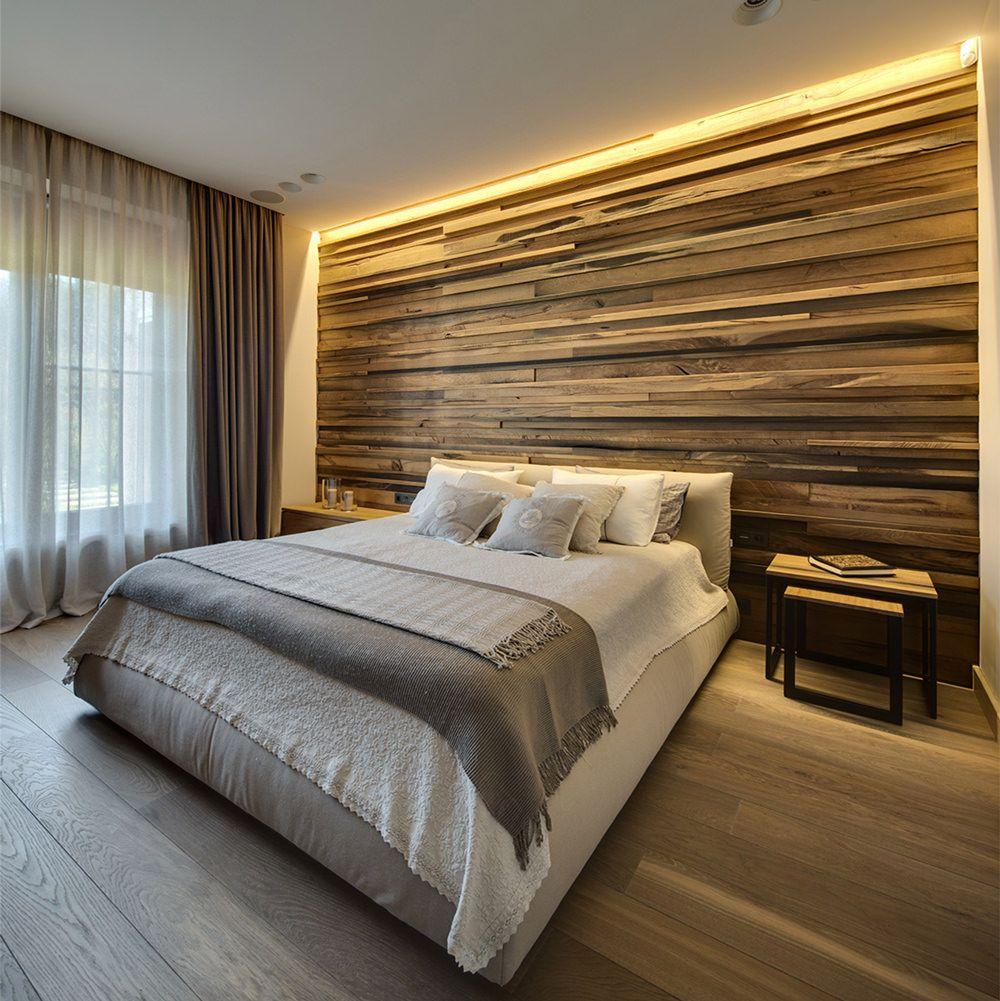 Testata In Legno Per Letto 40 idee di lavori in cartongesso per la camera da letto (con