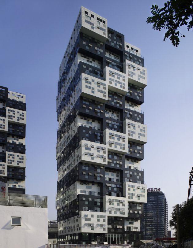Contemporary Buildings BUMPS Building Modern Building Design