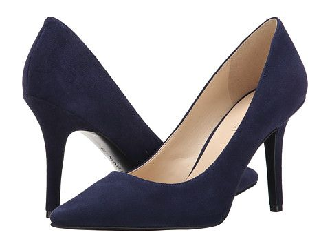 7c3a8bfd09d1a Nine West Jackpot Navy Suede 2 - Zappos.com Free Shipping BOTH Ways ...
